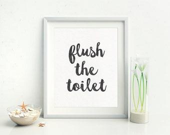 Bathroom Sign Quotes bathroom quote | etsy