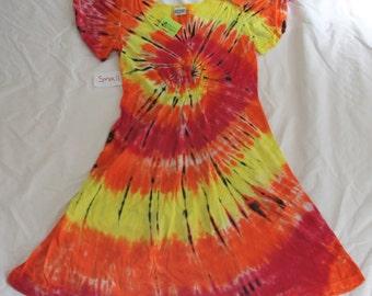 Women's Tie-Dye Dress