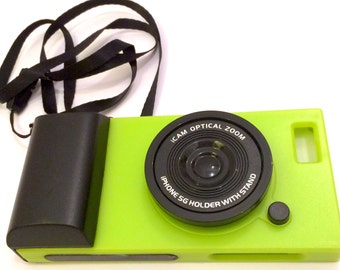 IPHONE 5 CAMERA SIMULATION Phone Case (Lime)