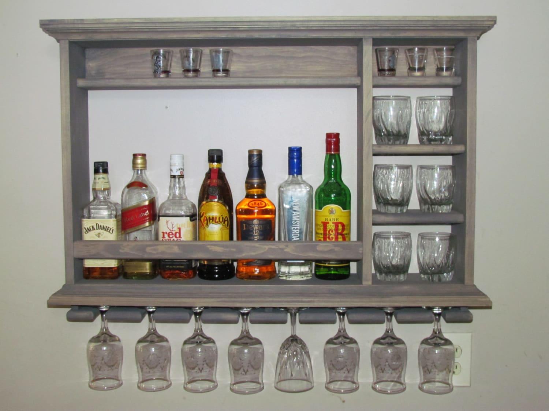 Wall Mounted Liquor Bar
