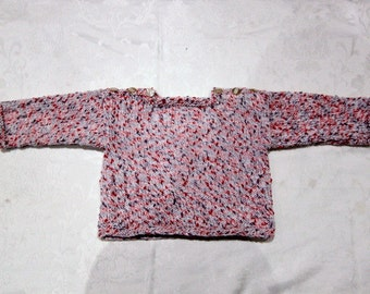Speckled girls jumper, very stylish and super soft. Machine washable. Perfect spring easter outfit.