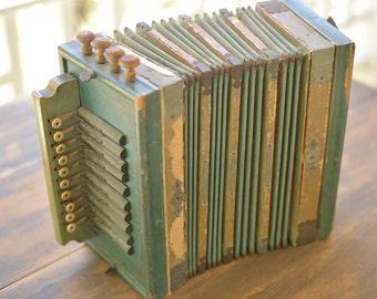 Musical Instrument Accordion Vintage Squeeze Box