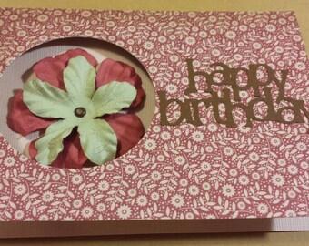 Homemade Birthday card #45