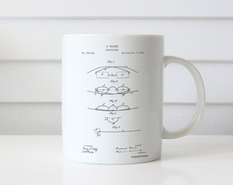 Eye Glasses Patent Mug, Optometry, Spectacles, Doctor Office Decor, PP0487