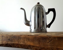 French TEAPOT, Coffee pot art deco/ French decor /French kitchen / Retro kitchen/ French country