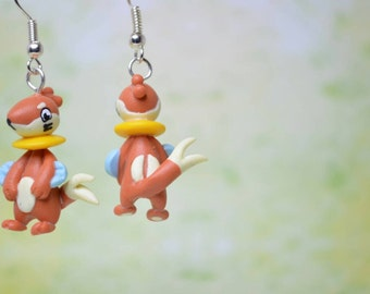 Buizel Pokemon Earrings