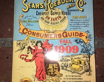 Sears Roebeck 1909 Consumer Guide