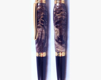 Luxury Ballpoint Pen - Handmade Box Elder