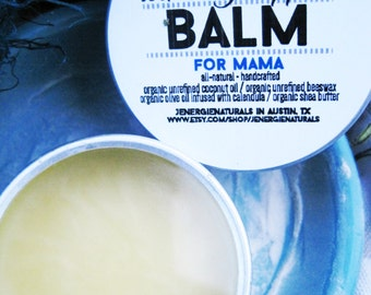 Nursing Nipple Balm///  For Mamas /// Organic Ingredients 2 oz., Baby & Mama, Nourishing, Moisturizer, New Mother, Baby Shower, skincare
