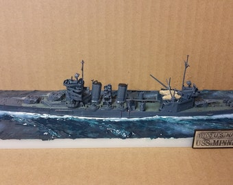 USS Minneapolis WWII Cruiser--Detailed Ship Model- 1/700 Scale