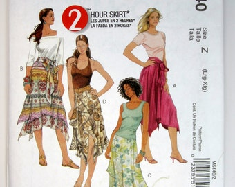 McCall's M5140 Misses' Skirts & Sash Sewing Pattern Sizes 16 -22 Uncut