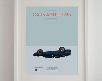 fargo movie car poster art print a3 cars and films home decor prints - Cars Pictures To Print