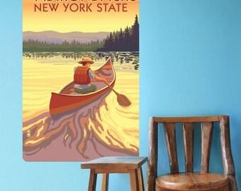 Adirondacks New York State Wall Decal - #60917