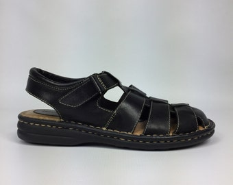 Size 9 - Minnetonka - Leather Huaraches Sandals - Womens US Size 9 M Shoes
