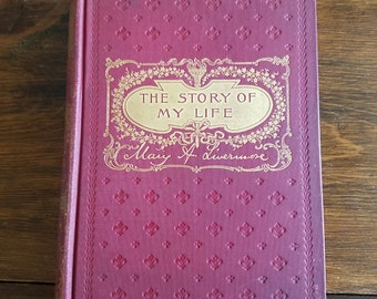 Vintage 1899 Book:  The Story of My Life, by Mary A. Livermore #33