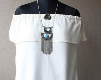 White Cotton Off Shoulder Top