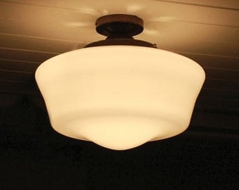 Schoolhouse Ceiling Light Fitting