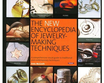 The New Encyclopedia of Jewelry - Making Techniques Book By Jinks McGrath Wa 580-012