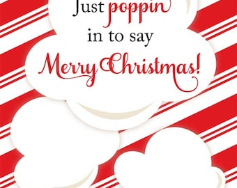 Christmas microwave popcorn wrapper christmas popcorn christmas popcorn party favors 2 microwave popcorn wrappers pronofoot35fo Choice Image