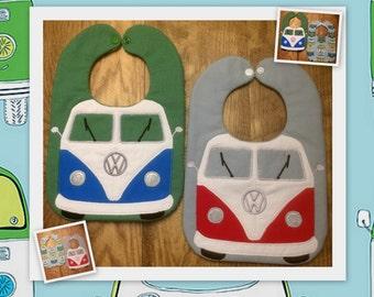 VW Van Baby Bib
