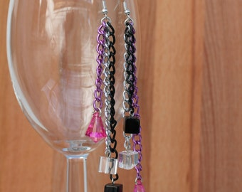 Chain Reaction - Mismatched Earrings
