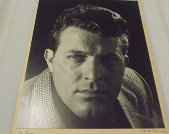 Vintage Signed 16x20 Photograph by Robert Simmons