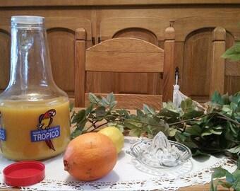 Lemonade carafe TROPICO/Jug/Jugful/Bottle/Vintage 80'S