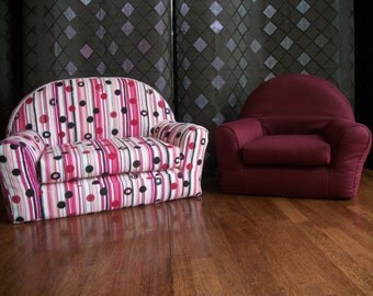 "18"" Doll Furniture - American Girl Doll Furniture-Doll Sofa & Chair Frniture Set - FREE SHIPPING"