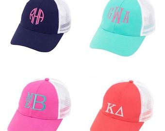Monogrammed Ladies Trucker Hat
