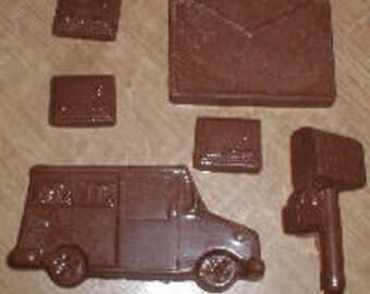 Mail Assortment Set Chocolate Mold