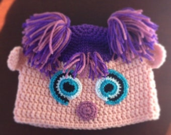 Abby Cadabby Hat - Girls Crochet Abbie Cadabby hat -  Kids Halloween Costume - Baby Halloween Costume