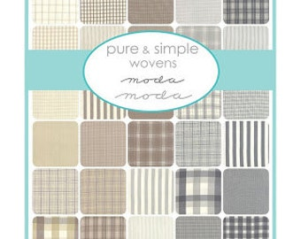 Pure and Simple Wovens - Jelly Roll