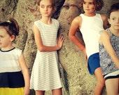 Thread Faction SS2016 Collection Girls PDF Pattern  Bundle - knit patterns skort dress tank short romper sweater