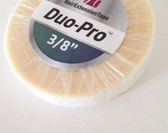 Duo Pro Tape Roll 3 8 For Hair Extensions Seamless Skin Weft