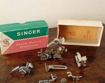 Singer Sewing Machine Attachments Original Box