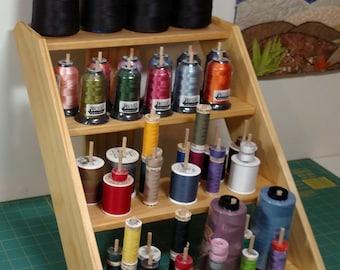 60 Dowel, 4 Shelf Thread Rack
