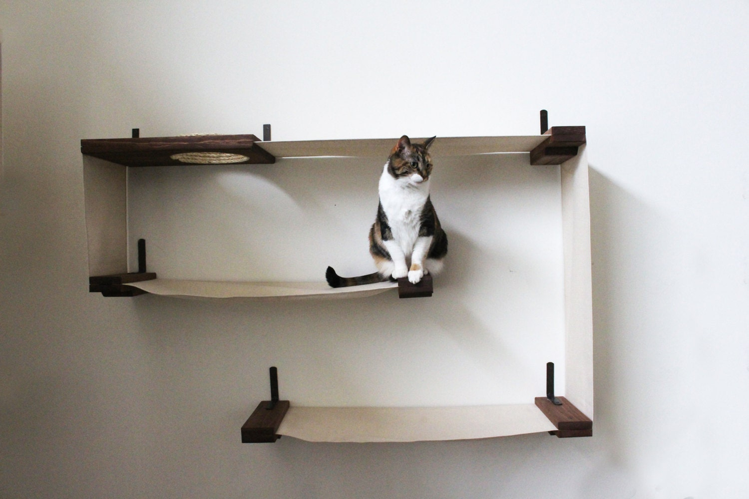fabric cat maze cat hammock shelves free us shipping. Black Bedroom Furniture Sets. Home Design Ideas