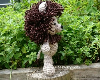 MADE TO ORDER Marley the Lion crochet amigurumi soft toy
