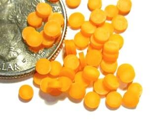 FLASH SALE Miniature Thick Cut Carrot Slices 40pcs