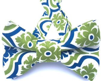 Navy and green tie, Navy bow tie, Green Bow tie, Coral bow tie, Blue bow tie,Pattern bow tie,Olive green bow tie,Adjustable bow tie, BowTie