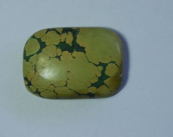 51 carat green tibetian turquoise cabochon