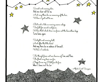 Crossing the Bar. Alfred Lord Tennyson poem.