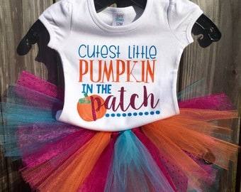 Cutest Pumpkin in the Patch outfit - Halloween  Sample Sale