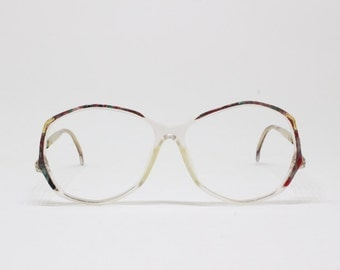 Flair glasses, made in Germany, designer eyewear, 80s vintage spectacles