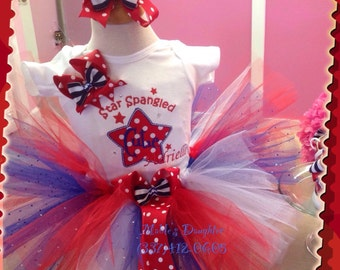 4th of July tutu set