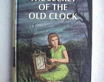 Secret Of The Old Clock Nancy Drew Mystery 1959