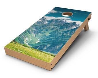 Scenic Mountaintops - Cornhole Board Skin Kit