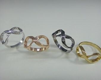 Infinity ring women silver  925