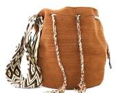 Wayuu Bag, Tote Bag,Cross-Body Bag, Brown Bag