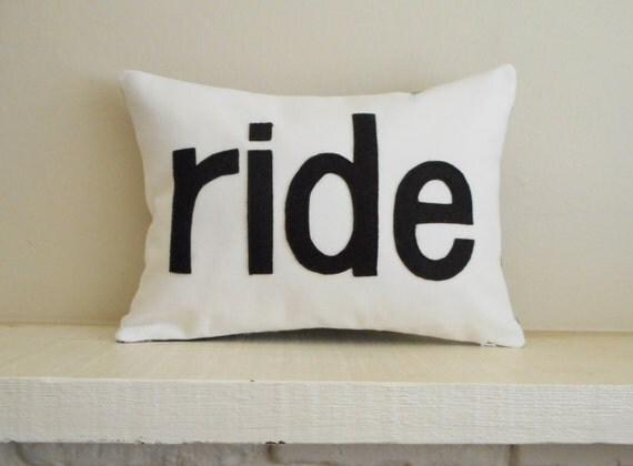 ride pillow - cover - 30 colors - equestrian pillow - horse pillow - horse riding pillow - cushion - equestrian pillow - horse lover gift
